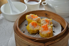 Shaomai dim sum Royalty Free Stock Images