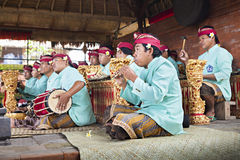 Shaow de la danza de Barong Imagenes de archivo