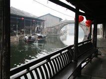 Shaoxing古老Watertown  免版税图库摄影