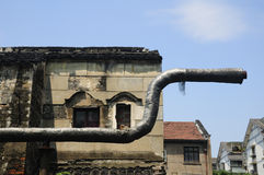 Shaoxing building ruins Royalty Free Stock Image