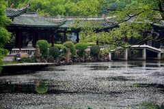 Shaoxing, Jhejiang, China stockfotografie