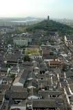 Shaoxing - Watertown, visión general Fotos de archivo libres de regalías