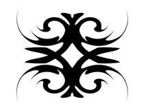 Shape. Black Shape design and illustration royalty free illustration
