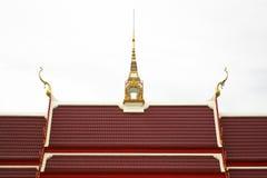Shape av buddistkyrkataket Arkivfoton