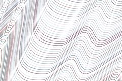 Shape av linjen, kurvan & vågen, abstrakt geometrisk bakgrundsmodell Illustration idérikt, vektor & yttersida royaltyfri illustrationer