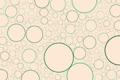 Shape of circles, bubbles, sphere or ellipses, abstract background pattern. Vector, art, texture & color. Shape of circles, bubbles, sphere or ellipses Vector Illustration