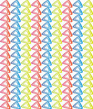 Shape colorful pattern. Colorful pattern for web and graphic projects vector illustration