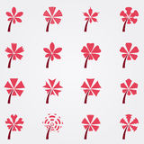 Shape Of Flower Royalty Free Stock Photos