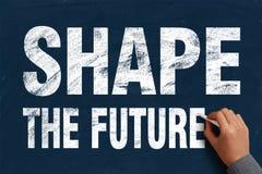 Shape the future Royalty Free Stock Image