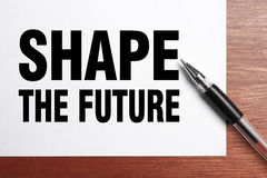 Shape the future Royalty Free Stock Photography