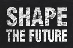 Shape the future Royalty Free Stock Photo