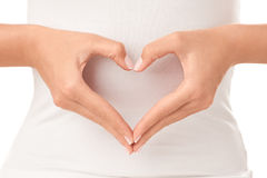 Shape of heart Royalty Free Stock Photos