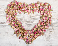 Shape of a heart Royalty Free Stock Images