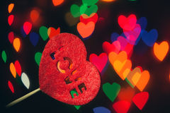 The shape of love. Different shape of love, different shape of heart Royalty Free Stock Image