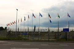 SHAPE, Mons, Belgium. Mons, Belgium. The SHAPE Supreme Headquarters Allied Powers Europe, headquarters of the North Atlantic Treaty Organization`s Allied Command stock photos