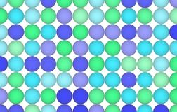 Shape pattern, wallpaper or texture background. Web, digital, artwork & abstract. Colored 3D sphere, circle or ellipse pattern for design wallpaper, texture or stock illustration