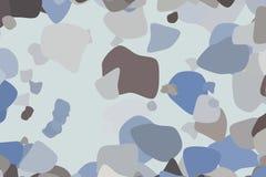 Shape of random rounded shapes, abstract geometric background pattern. Decoration, backdrop, vector & web. Shape of random rounded shapes, abstract geometric royalty free illustration