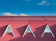 The A - Shape Roof Arch royalty free stock photos