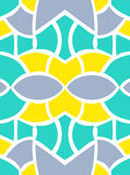 Shape seamless pattern Stock Photography