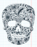 Shape skull Royalty Free Stock Images