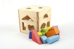 Shape sorter Stock Image