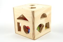 Shape sorter Stock Photo