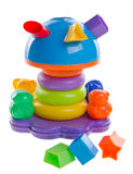 Shape Sorter. Childs toy shape sorter. On background royalty free stock photography