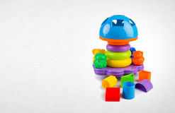 Shape Sorter or Childs toy shape sorter on a background. Shape Sorter or Childs toy shape sorter on a background Stock Image