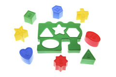 Shape Sorter Toy Royalty Free Stock Photo