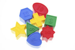 Shape Sorter Toy Blocks Royalty Free Stock Photography