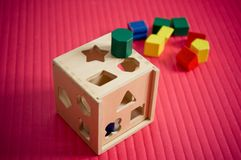Shape sorter Royalty Free Stock Photography