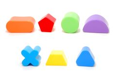 Shape Toys Royalty Free Stock Photography