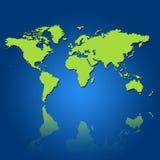 Shape of the world vector illustration