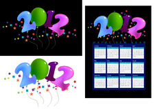 Shaped balloons Royalty Free Stock Images
