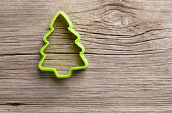 Shaped cookie cutter Stock Images