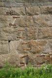 Shaped wall. Royalty Free Stock Image