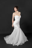 Shapely bride Stock Images