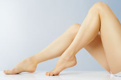 Shapely legs Royalty Free Stock Photo