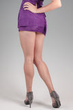 Shapely legs Stock Photo