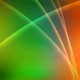 Bright Shapes background. An abstract shapes green orange yellow colours  background Royalty Free Stock Image