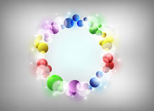 Shapes background Royalty Free Stock Images