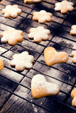 Shapes cookies Stock Photography