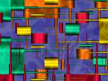 Shapes dappled Stock Images