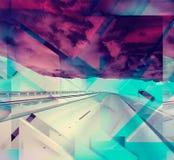 shapes den redigerbara geometriska illustrationen för abstrakt bakgrund vektorn Arkivfoto