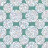 Abstract seamless patterns circles. Shapes geometric pattern circles dots-vector illustration. Dots background vector. An original print vector illustration