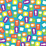 Shapes of kitchenware Royalty Free Stock Photography