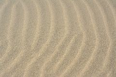 Shapes in the sand Royalty Free Stock Photos