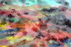 Shapes and soft pastel abstract background Royalty Free Stock Photo