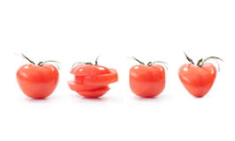 Shapes of tomatoes Royalty Free Stock Photography