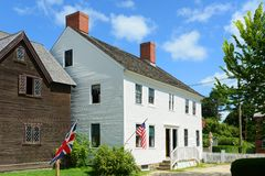 Shapley-Drisco House, Portsmouth, New Hampshire Stock Image